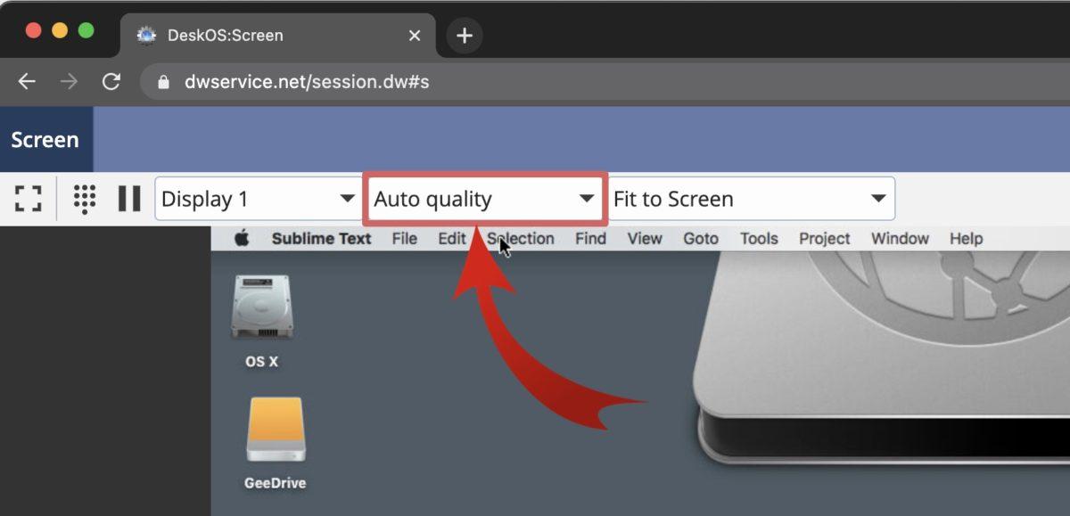 dwservice-remote-screen-auto-quality